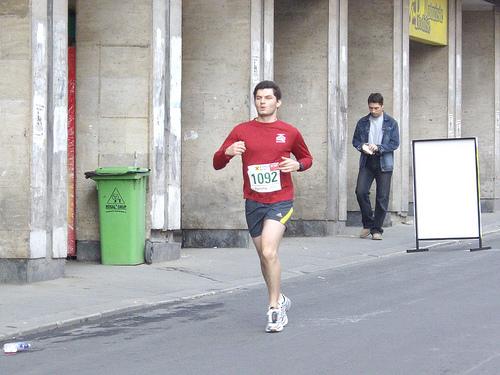 Stefan running